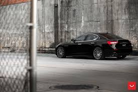 maserati black 2017 black maserati ghibli looking fly on custom polished silver wheels