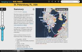 More Sea Level Rise Maps Surging Seas Sea Level Rise Analysis By Climate Central