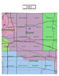 Dekalb Illinois Map by Illinois Redistricting