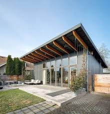 shed roof houses modern home designs splendid prefabricated home with shed roof