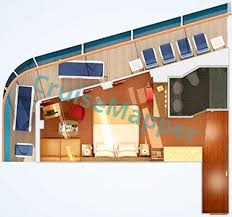 Carnival Cruise Suites Floor Plan | carnival spirit cabins and suites cruisemapper