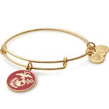 marine jewelry us marine corps charm bracelet alex and ani