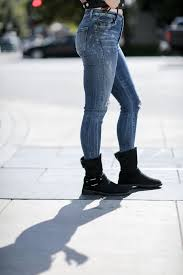 black moto boots ugg boots are back with a street style makeover my boring closet