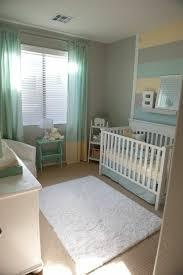 wandgestaltung kinderzimmer mit farbe türkis und graue farbe für ein kleines babyzimmer 45 auffällige