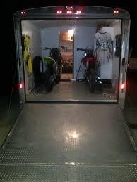 motocross toy bikes diy enclosed motocross motorcycle trailer organization motocross