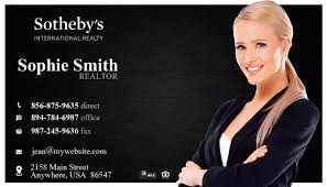 Realtor Business Card Template Sothebys Realty Business Cards 02 Sothebys Realty Card Template