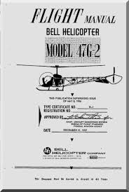 bell helicopter 47 g 2 flight manual 1957 aircraft reports