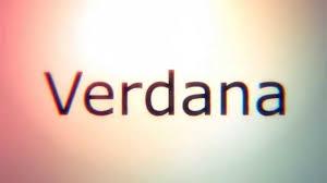 Best Font For Resume Verdana by Tipografia Verdana Verdana Typography Youtube