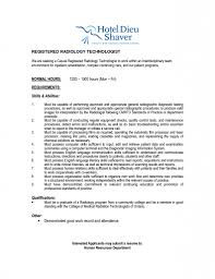 Cover Letter Job Resume by Radiological Technologist Sample Resume Christmas Gift Certificate