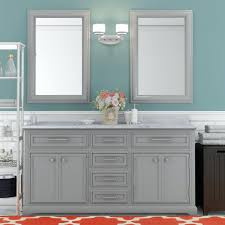 inch double sink bathroom vanity in espresso with glass top and 60