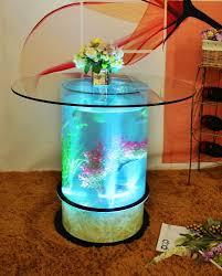 fish tank coffee table aquarium water fish tank glass top coffee