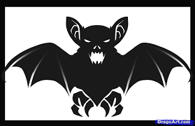 how to draw a halloween bat step by step halloween seasonal
