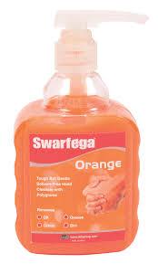 Jeyes Fluid Patio Cleaner by Swarfega Orange Hand Cleaner With Pump 450 Ml Departments Diy