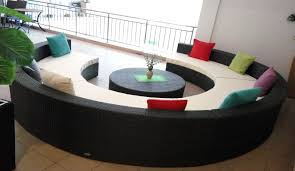 Sofa Round Round Shape Sofa Set Sectional Sofa Set Wicker Sofa Sofa Supplier