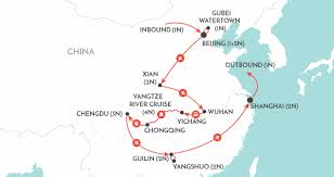 Chongqing China Map by China Trailblazer China Tour Wendy Wu Tours