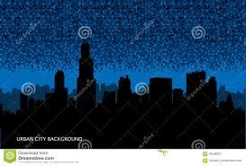 urban cityscape seamless background night city wallpaper stock