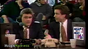 seinfeld garage what would happen if jay leno and jerry seinfeld commentate nba