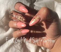 gel temperature color change nails tutorial youtube