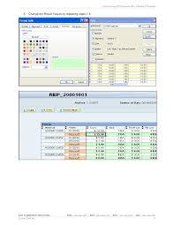customizing sap template bex