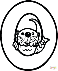 coloring pages otter coloring pages print harry potter