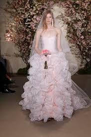 oscar de la renta lace wedding dress oscar de la renta bridal for 2012 donnie brown