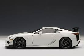 lexus sport car lfa amazon com lexus lfa nurburgring package whitest white toys