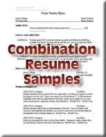 combination resume exles resumes placement cooperative education butte college