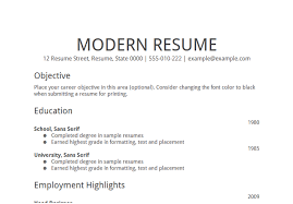 Sample Of A Basic Resume by Best Simple Resume Simple Resume Example Basic Job Resume