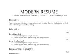 best simple resume simple resume example basic job resume