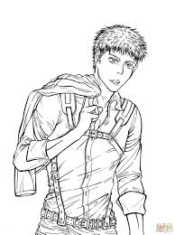 jean kirschtein from manga series shingeki no kyojin attack on