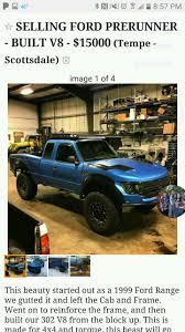 prerunner ranger 4x4 how about this for a crazy build 1999 ford ranger raptor prerunner