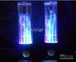 purple led lights for computers 2018 water fountain speakers dancing led lights laptop computer ipod