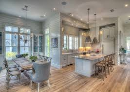 kitchen beach house kitchen with tongue and groove walls