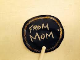 reusable cloth christmas bags and tags one brown mom