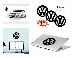 jeep transparent background amazon com volkswagen logo stickers decal set of 3 decals