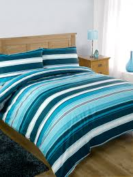 duvet cover pillow case designer stripe luxury bedding set quilt
