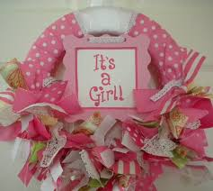 it s a girl ribbon 15 best hospital door images on baby girl wreaths