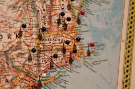 How To Make A Map How To Make A Homemade Pinboard Map The Path Less Taken