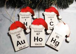 periodic table ornaments awesome and