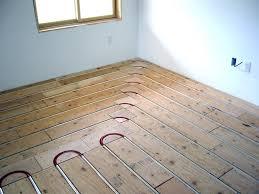 heated hardwood floors store