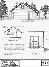 how to build 2 car garage plans pdf plans two car garage plan 480 2 20 x 24 by behm design garage plans by