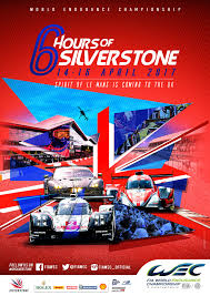 porsche racing poster 6 hours of silverstone fia world endurance championship
