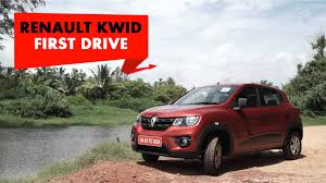 renault kwid on road price renault kwid first drive powerdrift youtube