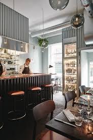 Finnish Interior Design Joanna Laajisto Lines Helsinki Restaurant With Corrugated Metal