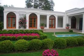 Front Of House Landscaping by Garden House Designs Alluring House Designs With Garden Home