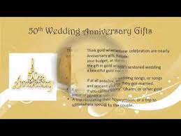 50 wedding anniversary gift 50th wedding anniversary ideas gifts for 50th anniversary