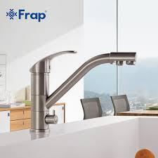 kitchen faucet nickel high end brass nickel brushed kitchen faucet sink mixer tap 360