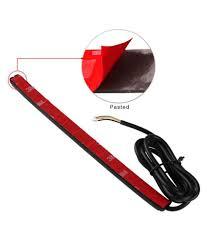 Light Bar For Motorcycle 32 Smd Red Universal Flexible Led Bar For Motorcycle Bike Brake