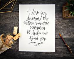 Wedding Quotes Indonesia Quotes On Love Etsy