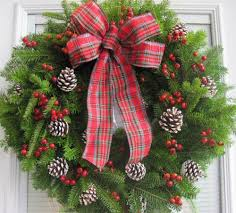 Decorating Pine Christmas Wreaths by Christmas Wreath Christmas Balsam Fir Wreath